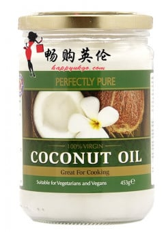 完全纯净的特级纯净椰子油 Perfectly Pure Extra Virgin Pure Coconut Oil