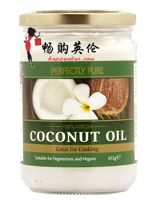 完全纯净的特级纯净椰子油 Perfectly Pure Extra Virgin Pure Coconut Oil
